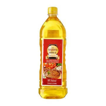 Picture of Sampoorna Pure Metal Pressed Groundnut Oil