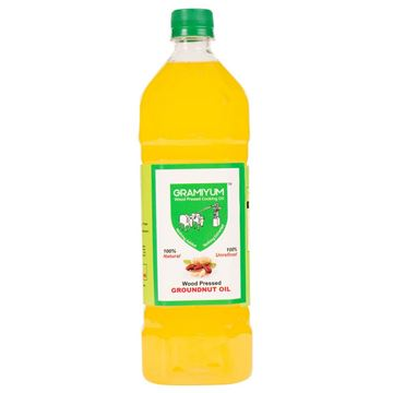 Picture of GRAMIYUM Cold/Wood Pressed Groundnut Oil