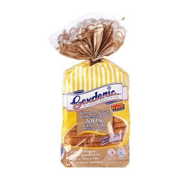 Picture of Gardenia 100% Wholemeal Extra soft & Fine Bread