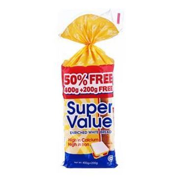 Picture of Gardenia Super Value Enriched White Bread Hi cal Hi Iron