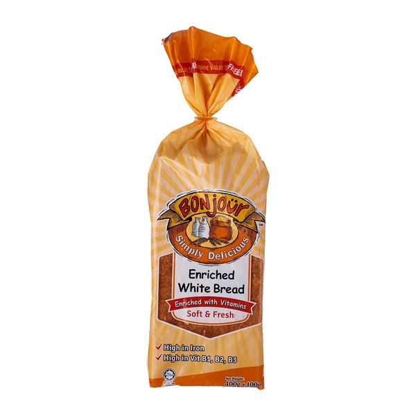 Picture of Bonjour Enriched White Bread Soft & Fresh