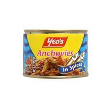 Picture of Yeo's Anchovies In Spices