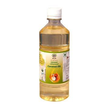 Picture of ARYA FARM  Cold/ Wood Pressed Coconut Oil  (Certified ORGANIC)