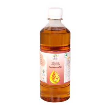 Picture of ARYA FARM  Cold/ Wood Pressed Sesame Oil  (Certified ORGANIC)