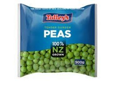 Picture of TALLEY'S Tender Garden Peas ~ Frozen