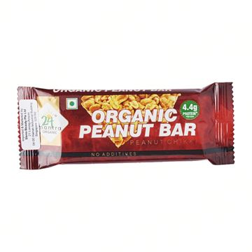 Picture of 24 MANTRA Crunchy Peanut Energy Bar (Certified ORGANIC)