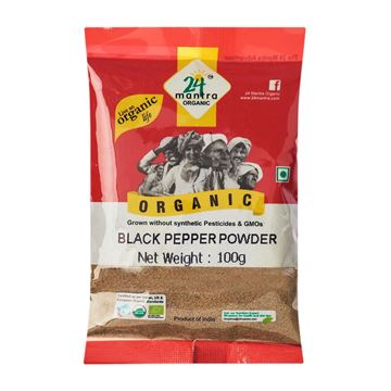 Picture of 24 MANTRA Black Pepper Powder (Certified ORGANIC)