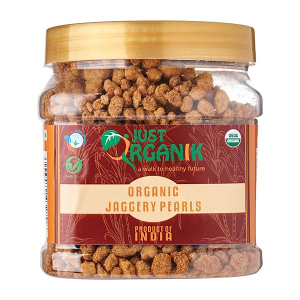 Picture of JUST ORGANIK Jaggery Pearls (Certified ORGANIC)