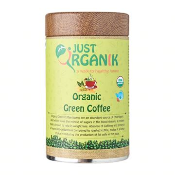 Picture of JUST ORGANIK Green Coffee (Certified ORGANIC)