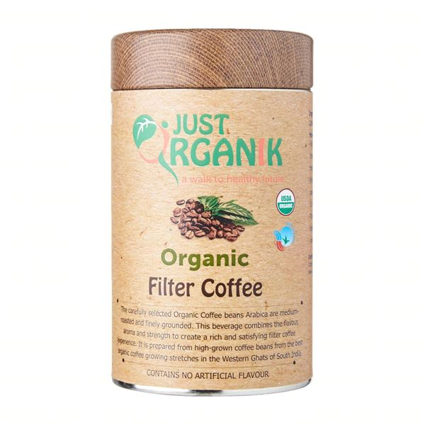 Picture of JUST ORGANIK Filter Coffee (Certified ORGANIC)