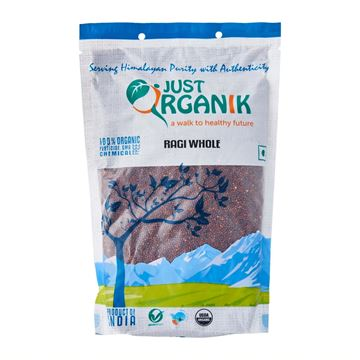 Picture of JUST ORGANIK Ragi Whole  (Certified ORGANIC)