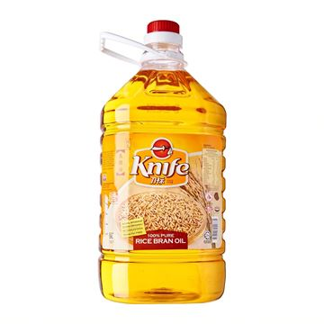 Picture of Knife Rice Bran Cooking Oil