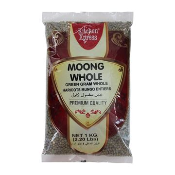 Picture of KITCHEN XPRESS Green Moong Dal  Whole