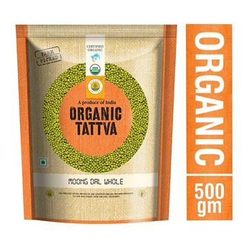 Picture of Organic Tattva Green Moong Dal Whole (Certified ORGANIC)