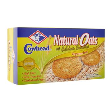 Picture of COWHEAD  Natural Oats Crackers