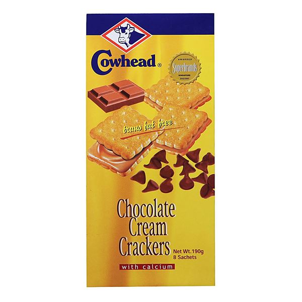 Picture of COWHEAD Chocolate Sandwich Crackers