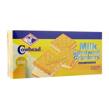 Picture of COWHEAD Milk Sandwich Crackers