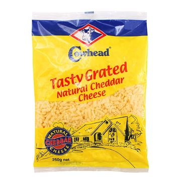 Picture of COWHEAD Tasty Grated Cheddar Cheese