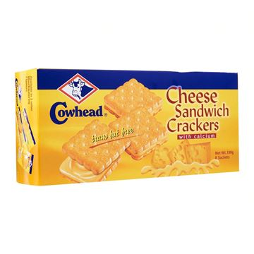 Picture of COWHEAD Cheese Sandwich Crackers
