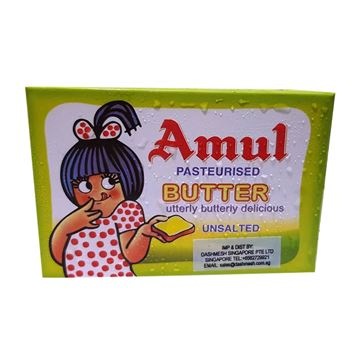 Picture of Amul Delicious Butter UNSALTED (Chilled)