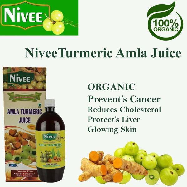 Picture of NIVEE Amla Turmeric Juice (Certified Organic)