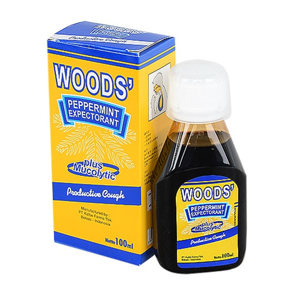 Picture of WOODS Pepper Mint Cough Syrup