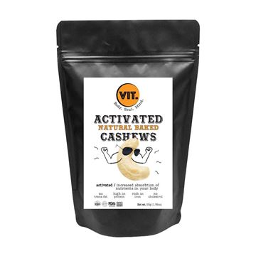 Picture of VIT Activated Natural Baked Cashews