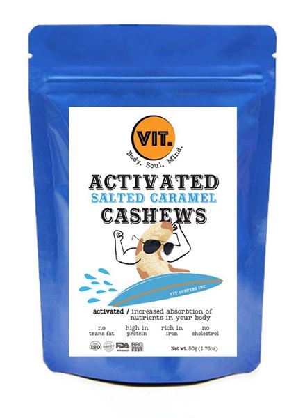 Picture of VIT Activated Salted Caramel Cashews