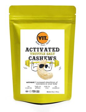 Picture of VIT Activated Truffle Salt Cashews