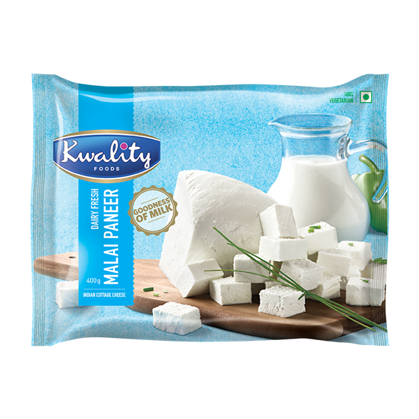 Picture of Kwality Foods Fresh Malai Paneer Cubes
