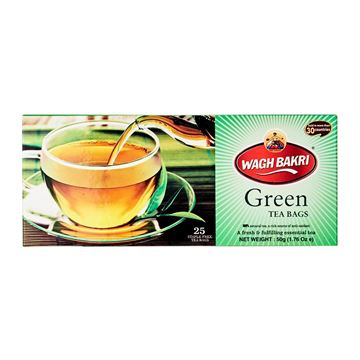 Picture of WAGH BAKRI Green Tea Bags