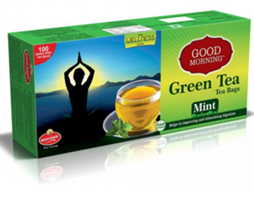 Picture of WAGH BAKRI Mint Flavoured Green Tea Bags