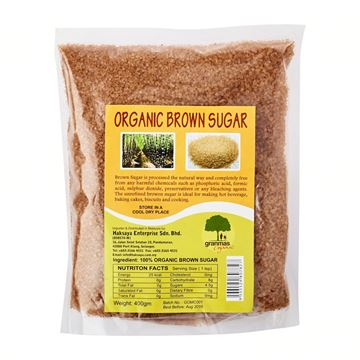 Picture of GRANMAS Organic Brown Sugar