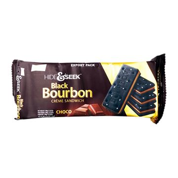 Picture of PARLE Hide And Seek Black Bourbon Creme Sandwich Choco