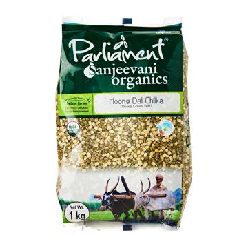 Picture of PARLIAMENT Green Moong Dal  Split (Certified ORGANIC)