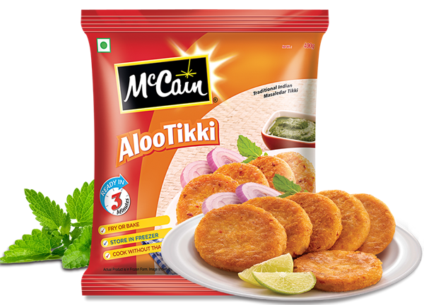 Picture of McCain Aloo Tikki (Chilled)