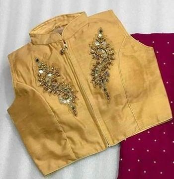 Picture of Blouse Cream With Gold
