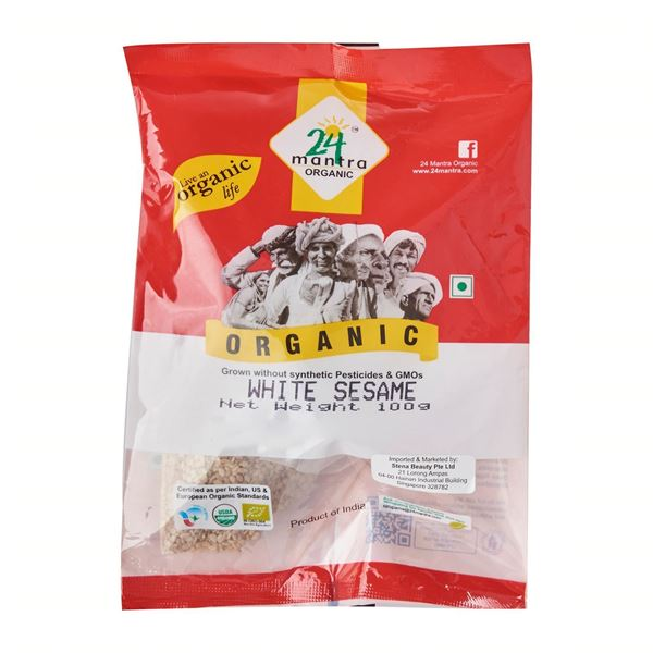 Picture of 24 MANTRA White Sesame Seeds (Certified ORGANIC)