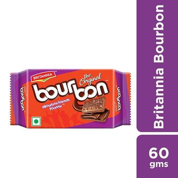 Picture of Britannia Bourbon Choco Cream Biscuit