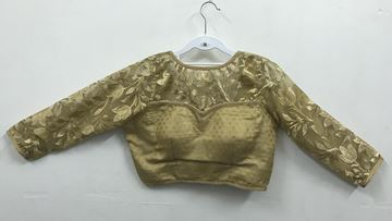 Picture of Blouse Golden Long Netted Sleeve