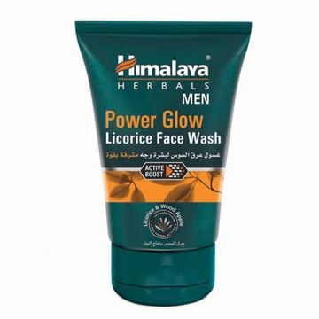 Picture of Himalaya Herbals Men Power Glow Licorice Face Wash