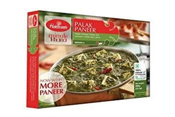 Picture of Haldiram's Palak Paneer Ready To Eat (Chilled)