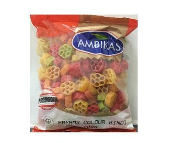 Picture of Ambika's Colour Bindi Fryams (Papad)