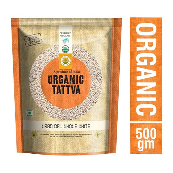 Picture of Organic Tattva Whole White Urid Dal (Certified ORGANIC)