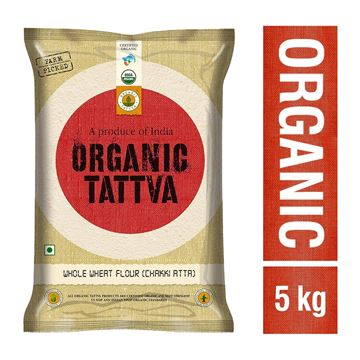 Picture of Organic Tattva Chakki Wheat Flour/Atta (Certified ORGANIC)