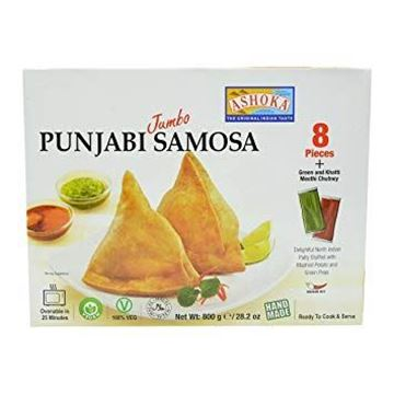 Picture of Ashoka Punjabi Style Authentic Samosa With Green Chutney (Chilled)