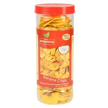 Picture of Paripoorna Salted Banana Chips