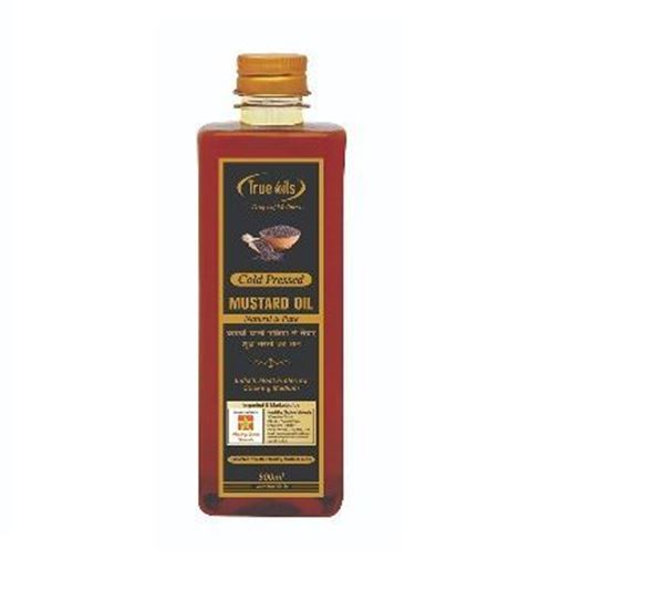 Picture of HCV Natural Cold Pressed Mustard Oil