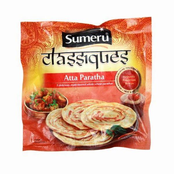 Picture of SUMERU Whole Wheat (Atta) Paratha (Chilled)