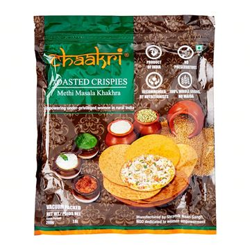 Picture of Chaakri Methi Masala Khakhra